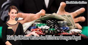 Cara Main Judi Poker