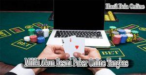 Petaruh Poker Online Tangkas